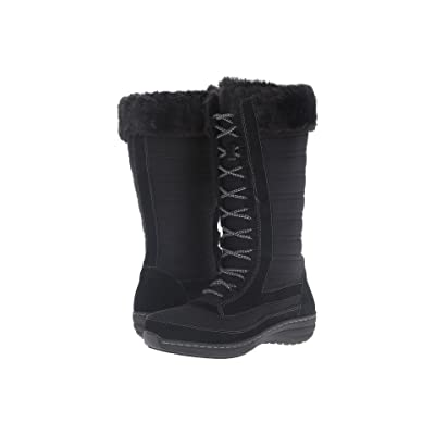 Aetrex Berries Tall Lace-Up Boot (Blackberry) Women