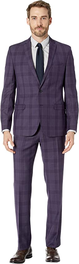 "Plaid 32"" Finished Bottom Suit"