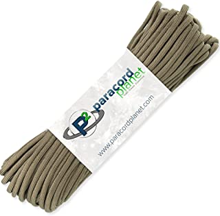 PARACORD PLANET 100' Hanks Parachute 550 Cord Type III 7 Strand Paracord Top 40 Most Popular Colors