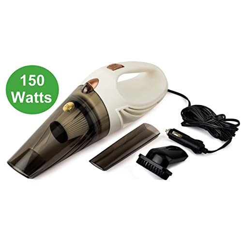 RNG Eko Green RNG-2001 Car Handheld Vacuum Cleaner (White)