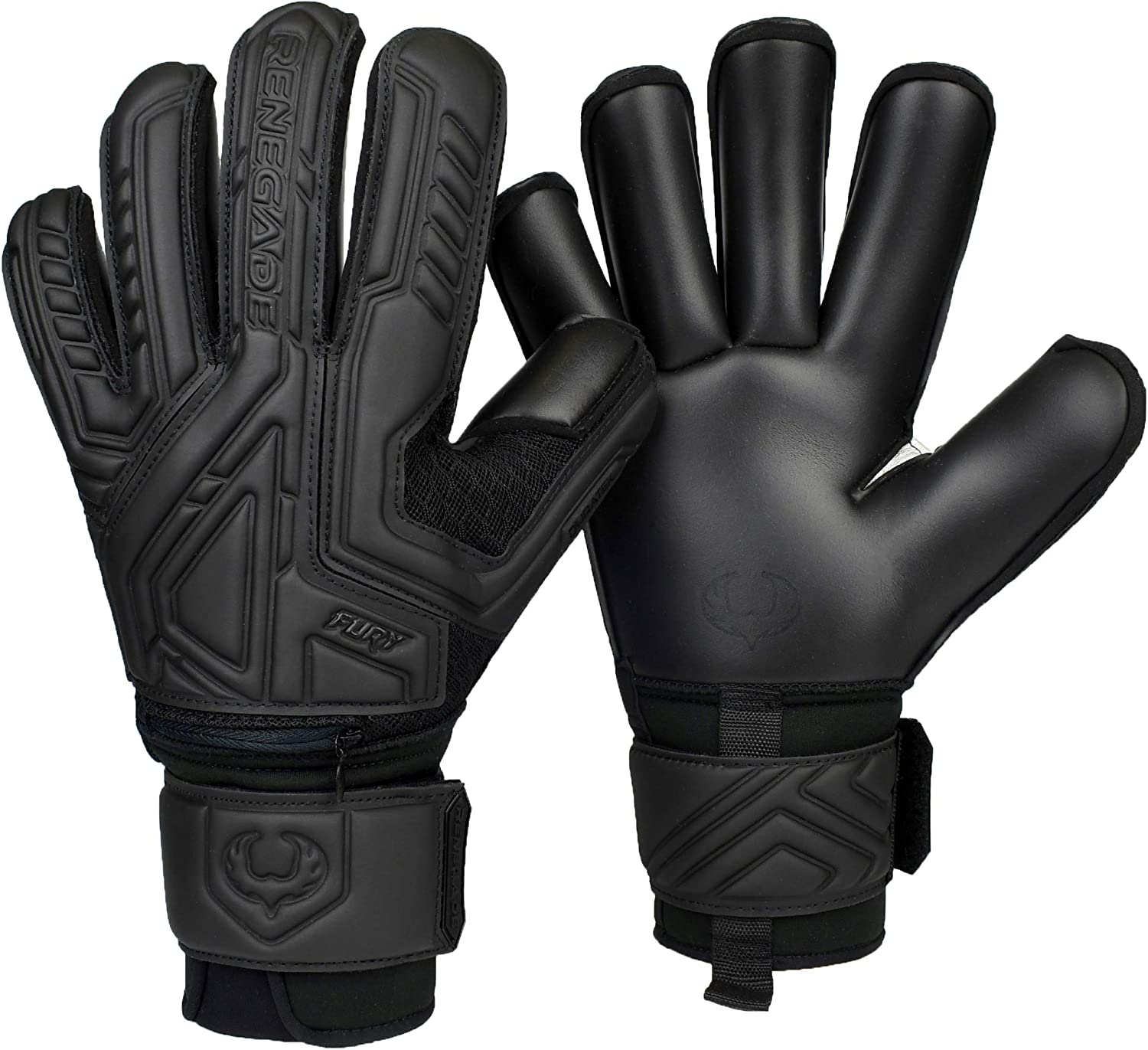 Renegade GK Fury Goalie Cheap mail order sales Gloves with Sizes 7 famous 7-11 Microbe-Guard