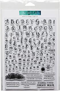 """Concord & 9th - Clear Stamps - 6""""x8"""" Perfectly Penned"""