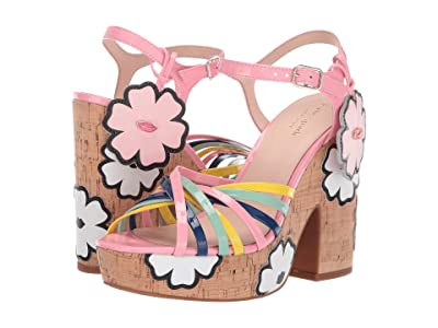 Kate Spade New York Gerry (Multi Rococo Pink Patent) Women