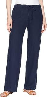 Allen Allen Womens Solid Long Pants