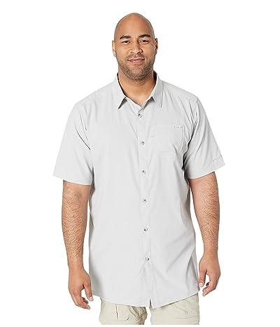 Columbia Big Tall Slack Tide Camp Shirt (Cool Grey) Men