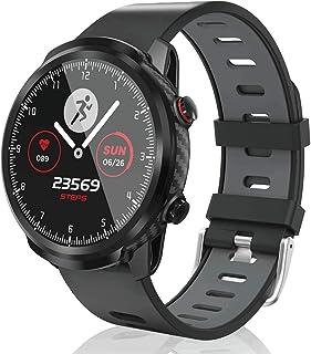 CatShin Reloj Inteligente Mujer,smartwatch Hombre Tracker de Actividad, Pantalla táctil Fitness Tracker, Reloj Deportivo B...