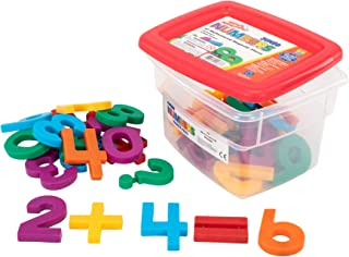 Educational Insights Jumbo MathMagnets- Multicolored, Ages 4 and up, (42 pieces)
