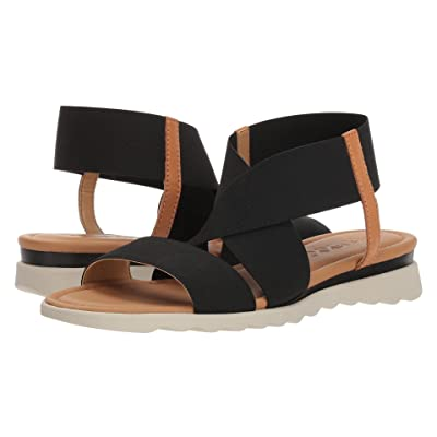 The FLEXX Extra (Black/Cognac Elastic) Women