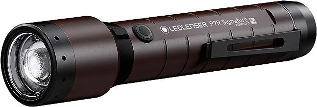 مصباح ضوئي P7R سيجنتشر القابلة لإعادة الشحن، 2000 لومن، نظام التركيز المتقدم، مفتاح وضع الإضاءة الحمراء، نظام شحن مغناطيس...