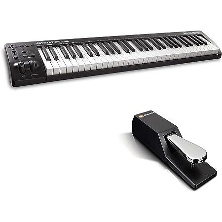 M-Audio Keystation 61MK3 + SP-2: Amazon.es: Electrónica