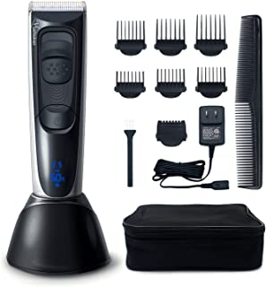 Hatteker Cordless Beard Trimmer Hair Trimmer Clipper Haircut Kit for Men Rechargeable