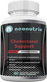 Lower Cholesterol Support Supplement Cardiovascular Health Support Cayenne Pepper Powder, Plant Sterol & Guggul Extract Ve...