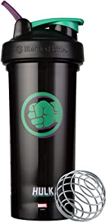 Blender Bottle Marvel Comics Pro Series Shaker Bottle, 28-Ounce, Hulk Fist