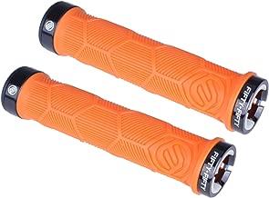 orange lock on grips