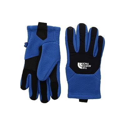The North Face Kids Denali Etiptm Gloves (Big Kids) (Turkish Sea/TNF Black) Extreme Cold Weather Gloves