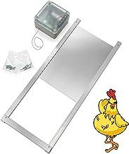Happy Henhouse Automatic Chicken Coop Door Opener Kit - Light Sensor, NO Timer, Battery Operated - Electric Auto Chicken G...