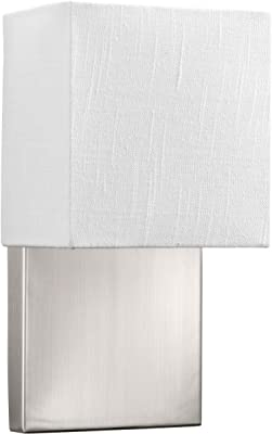 Progress Lighting P710010-009-30 One-Light LED Small Wall Sconce, Brushed