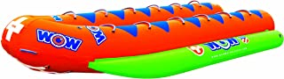 WOW World of Watersports, 12-8050, Resort Sports 12 Rider Closed Bow Towable Banana Boat