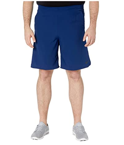 Nike Big Tall Flex Shorts Woven 2.0 (Blue Void/Black) Men