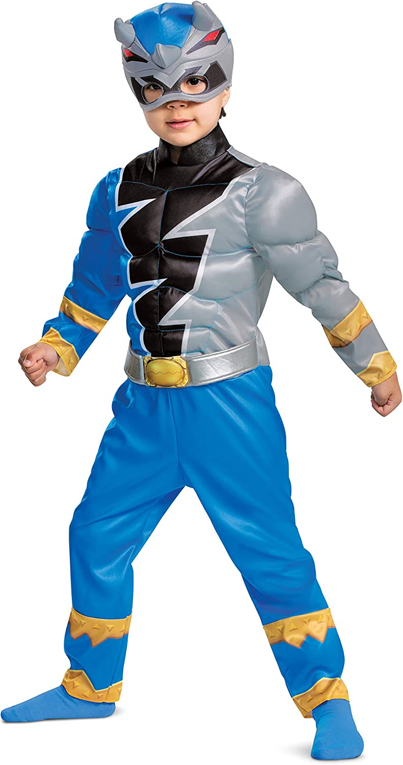 overseas Toddler Power Rangers Popular shop is the lowest price challenge Dino Costume Blue Fury Ranger