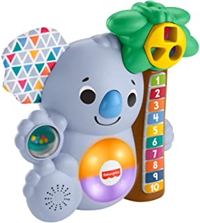 Fisher-Price Linkimals Counting Koala - animal-themed musical learning toy for baby and toddler ages 9 months and older G...