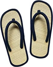 USA STEP Women's Girls' Handmade Indoor Outdoor Home Spa Hotel Straw Flip Flops Sandals Slippers Thong