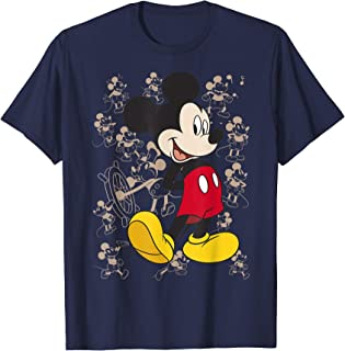 Disney Mickey And Friends Mickey Mouse Portrait Overlay Camiseta