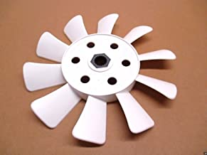 Tuff Torq Genuine 1A646083050 Transmission Cooling Fan 10 Blade White OEM