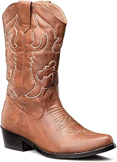 f96424da996 Amazon.co.uk: Cowboy Boots - Boots / Women's Shoes: Shoes & Bags