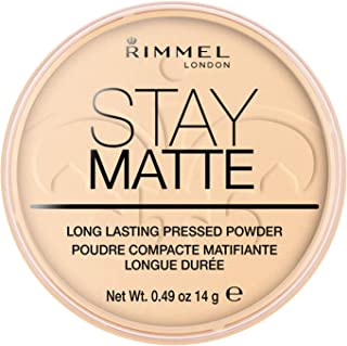 Rimmel London Stay Matte Pressed Powder, Transparent, 14g