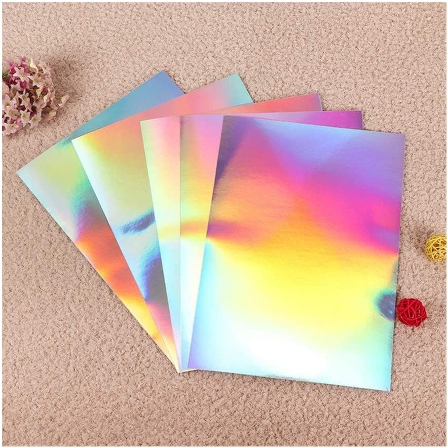 A4 Aluminium Foil Adhesive Sticker Blank Label Sliver Time sale Waterproof San Diego Mall