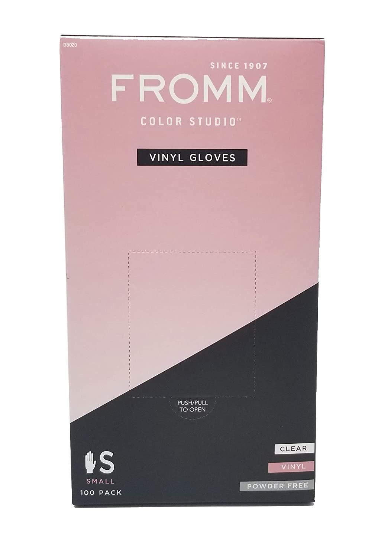 "100 Gloves MEDIUM 96-233 Cleanroom Antistatic Pink Vinyl Disposable 12/"" OAK"