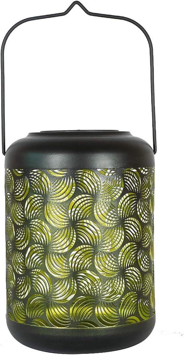 Solar Lantern Outdoor Hanging Solar Lights Decorative Garden Table Lamp Lights Outside Large Size,Green