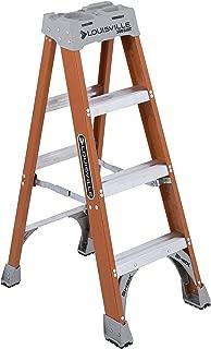 Louisville Ladder FS1504 Ladder Step FBRGLS TYPE1A 4FT, 4-Feet, Orange