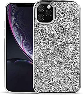YUANSHOPPING Iphone 11 Pro Max Case Glitter Powder Plated Two-in-one Applicable to Rhinestone Cell Phone Cover iphone11 YU...
