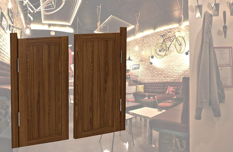 Saloon Swing Bar Pub Swinging Door Wood Solid Entrance Latest item Patio supreme
