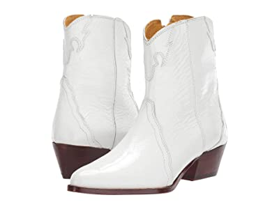 Free People New Frontier Western Boot (White) Women