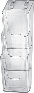 Porta-folletos de sobremesa acrylic Material acr/ílico 1 unds. con 1 compartimento para A5