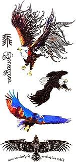 Devil Skull Wing Horse Temporary Tattoo Stickers Men Women Arm Leg Fake Tattoo Decals Waterproof Tattoo Body Art Stickers,H13