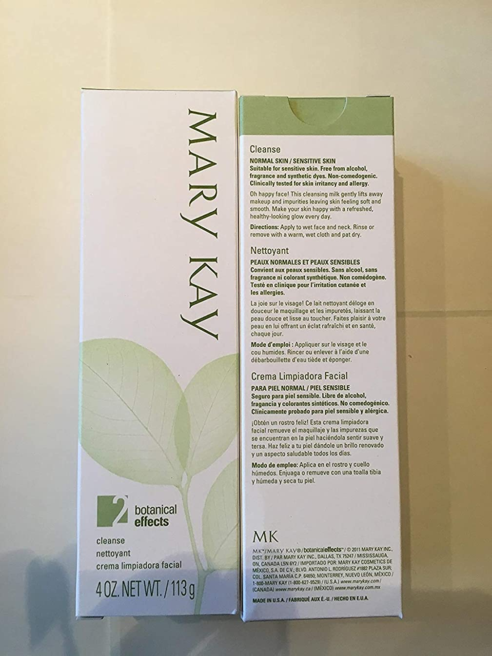 Mary Kay Botanical Effects Cleanse Formula 2 (Normal Skin)