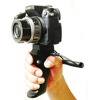 パナソニック/ライカ製カメラ ピストル型ハンドグリップ(シャッターリモコン機能付き)