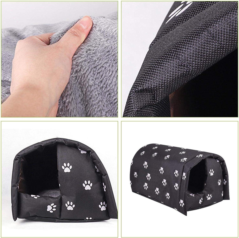 per mantenere caldi gli animali domestici Cuccia per animali domestici resistente alle intemperie per gatti e gatti per animali domestici per cani e gatti per far s/ì che il tuo gatto o cane piccolo