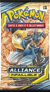 Pokemon (SL10) Booster Soleil et Lune – Alliance Infaillible (Modèle aléatoire), POSL1002