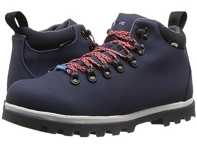 Native Shoes Fitzsimmons Treklite (Regatta Blue/Shell White/Onyx Black) Shoes