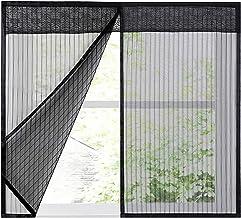 Vensterscherm Netgordijn Glasvezelscherm Netgordijn Geen boren Eenvoudige installatie Ventileren Passende ramen(70x170cm(2...