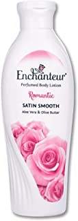 Enchanteur Romantic Perfumed Body Lotion, 250ml, with Aloe Vera & Olive Butter for Silky Smooth Skin