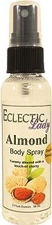Almond Body Spray (Double Strength), 2 ounces