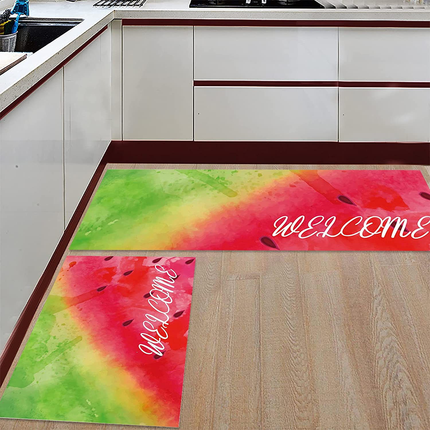Teamery Kitchen Rugs Raleigh Mall and Mats Set Cushioned Sales of SALE items from new works Comfort 2 Runner