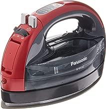 Panasonic 360 Ceramic Cordless Freestyle Metallic Red Iron,