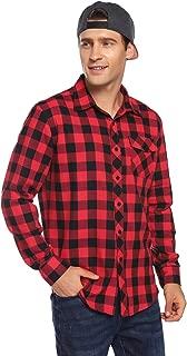 Best mens plaid flannel jacket Reviews